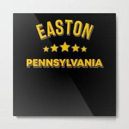 Easton Pennsylvania Metal Print