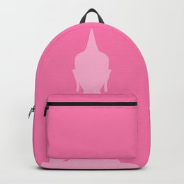 Pink Buddha Backpack