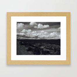 'Valley Clouds #2' Framed Art Print