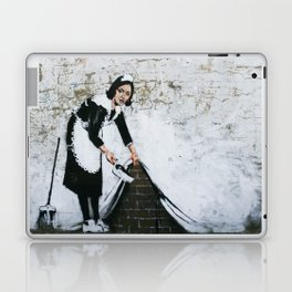 Banksy, Dirty Laptop & iPad Skin