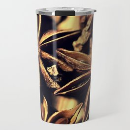 Star Anise Texture Travel Mug