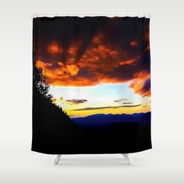 Imp Sunset Shower Curtain