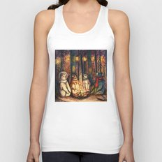 Camp Meeting By Helen Green Unisex Tank Top