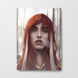 Changeling Witch Metal Print