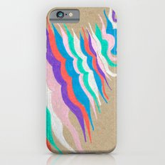 rainbow waves iPhone 6s Slim Case