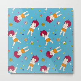 Chu Chu Angel : Pattern Print 6 Metal Print