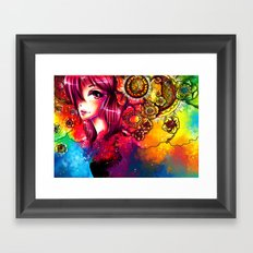 FLOWER II Framed Art Print