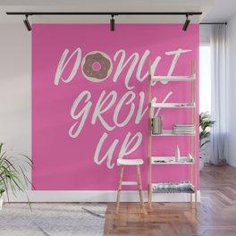 DONUT GROW UP Wall Mural