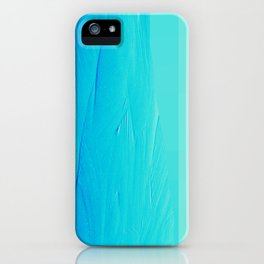 Blue Buffer iPhone Case