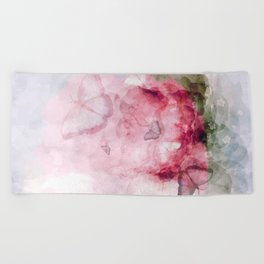 Abstract Background Beach Towel