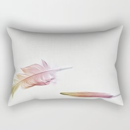 Bright as a Feather Rectangular Pillow