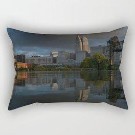 Moody Reflections Rectangular Pillow