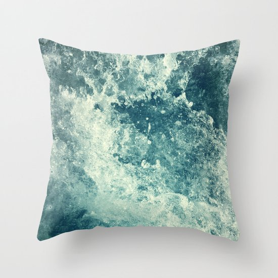 Water I Throw Pillow