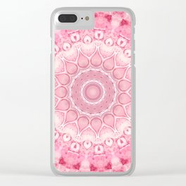 """""""The Suitor's Plea"""" Kaleidoscope 7 by Angelique G. @FromtheBreathofDaydreams Clear iPhone Case"""
