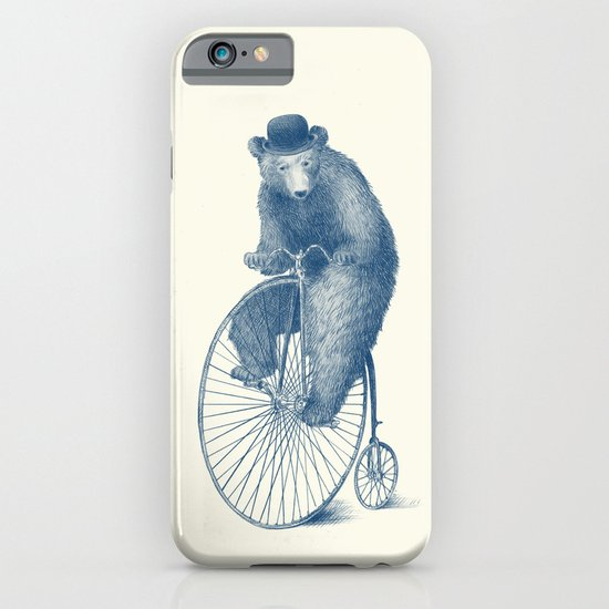 Morning Ride - Blue Option iPhone & iPod Case
