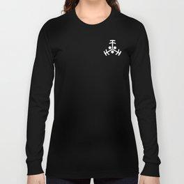 Glifo Insignia Vigilantes Negativo Long Sleeve T-shirt