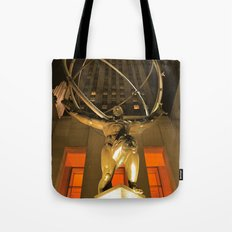 30Rock and Atlas Tote Bag