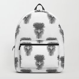 Emu Pattern Backpack