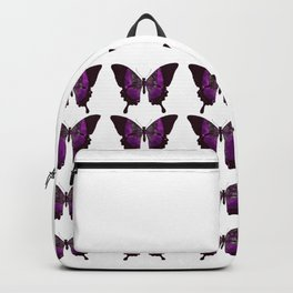 Fancy Purple Butterfly Backpack