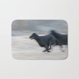 Flat Out Labradors Bath Mat