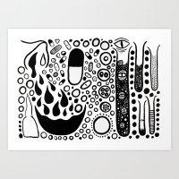 Test Tube Art Print