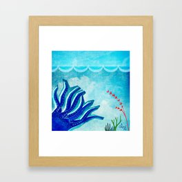 Octopus Exodus Framed Art Print