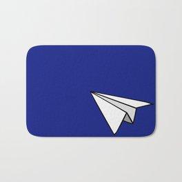 Paper Plane Bath Mat