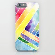 bright abstraction iPhone 6s Slim Case