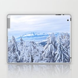 White out #mountains #winter Laptop & iPad Skin