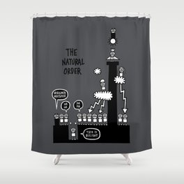The Natural Order Shower Curtain
