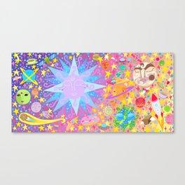 INTERSTELLAR SUNSET BREAKFAST Canvas Print