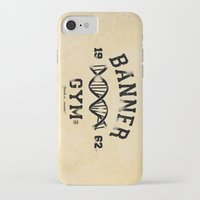 gym iPhone & iPod Cases featuring Banner Gym by Mitch Ethridge