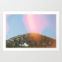 religious Art Prints featuring Religious Hill by Geppetto's Papa