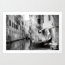 The Gondola Art Print