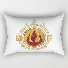 Fire Nation Admiral Rectangular Pillow
