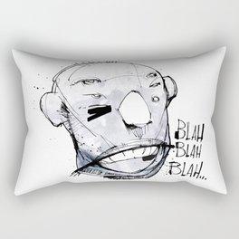 Blah Blah Blah... Rectangular Pillow