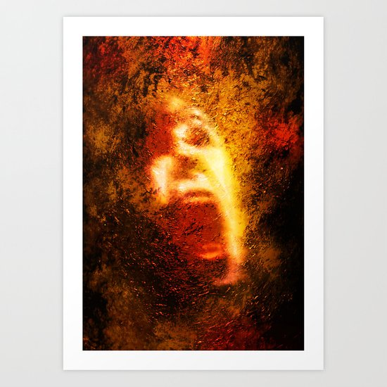 Too Bad About The Fire Art Print