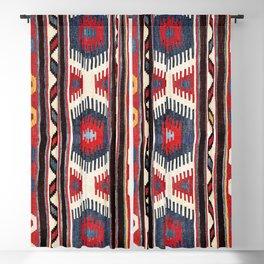 Kazak  Antique Southwest Caucasus Kilim Print Blackout Curtain