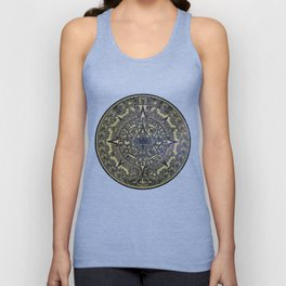 Ancient Aztec Calendar Unisex Tank Top