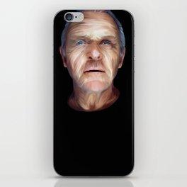 Anthony Hopkins iPhone Skin