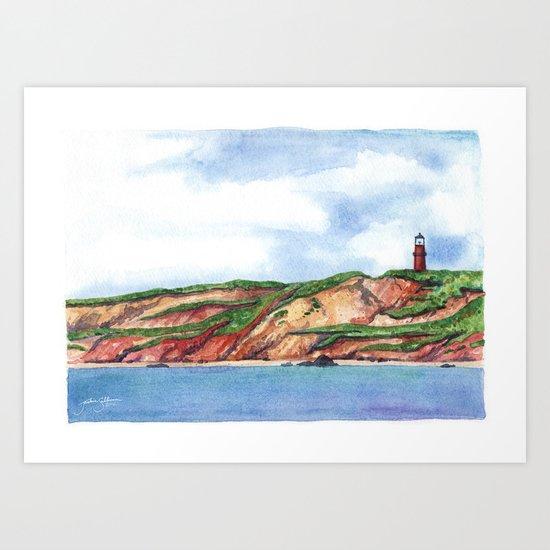 Ocean View of Aquinnah Art Print