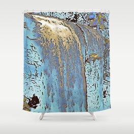 "series waterfall ""Cachoeira Grande"" III Shower Curtain"