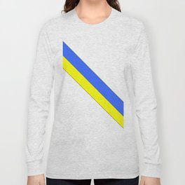 Flag of Ukraine 3 -Ukrainian,Україна, Ucrania,kiev,sevastopol Long Sleeve T-shirt