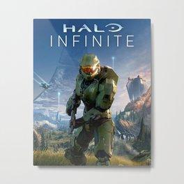 Halo Infinite Metal Print