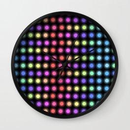 Disco Lights Wall Clock
