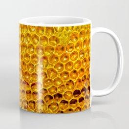 Yellow honey bees comb Coffee Mug