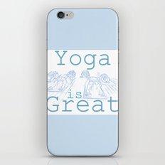 Yoga Is Great : Blues Take Two iPhone & iPod Skin