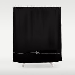 Love - Mix & Match with Simplicity of life Shower Curtain