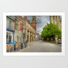 Old Town, Hull Art Print