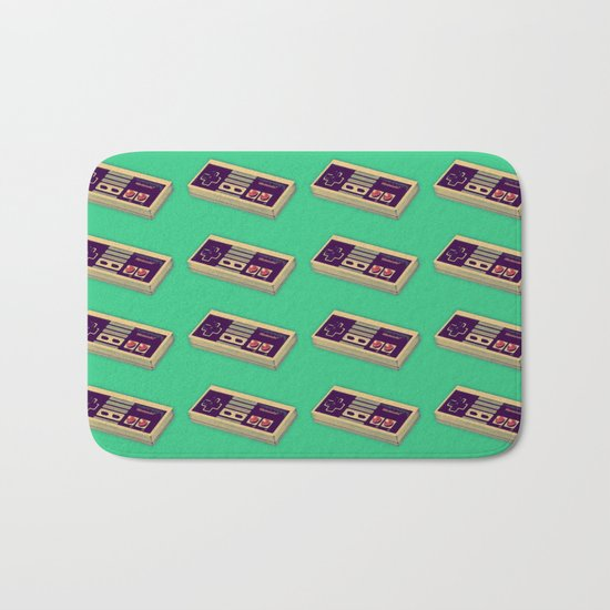 Classic Video Game Controller  |  NES Bath Mat